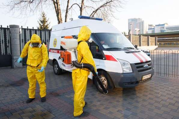 В Україні підтверджено 156 випадків коронавірусу