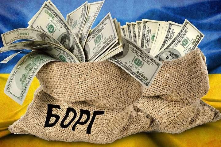 Госдолг Украины уменьшился на $1,07 млрд
