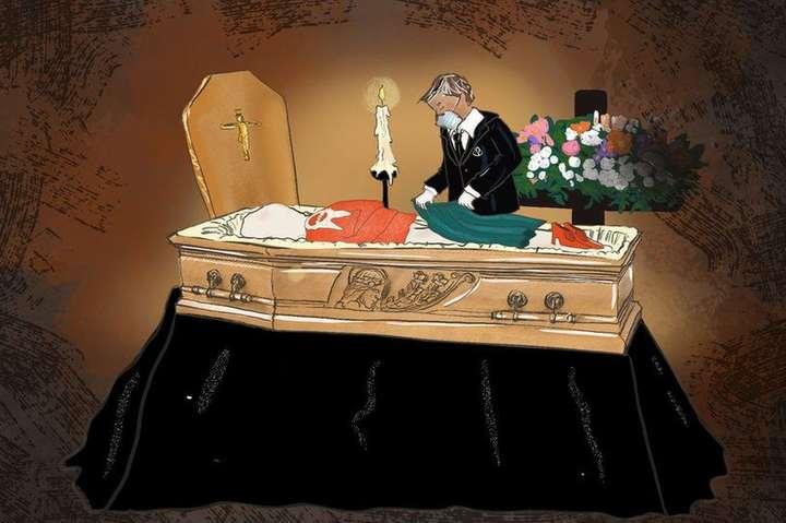 <p>&laquo;Мы кладем одежду умершего сверху на тело, чтобы создать иллюзию, что он в нее одет&raquo;</p> - Без отпевания и в больничной робе. Италия с трудом успевает хоронить жертв коронавируса