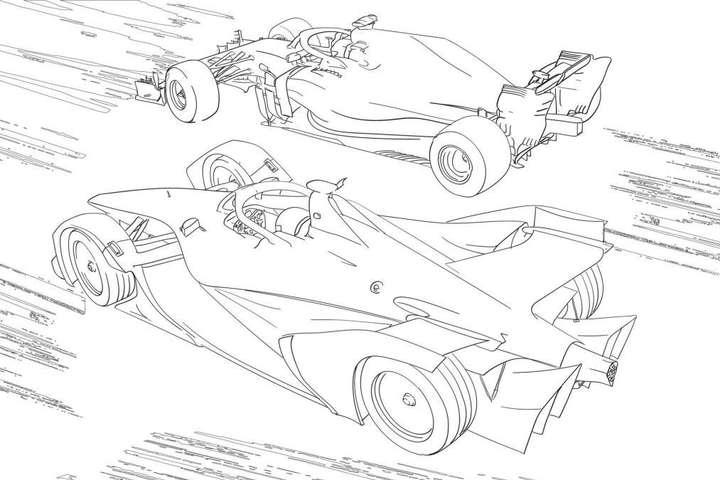 Розмальовка Mercedes - Німецькі автовиробники випустили «карантинні» розмальовки