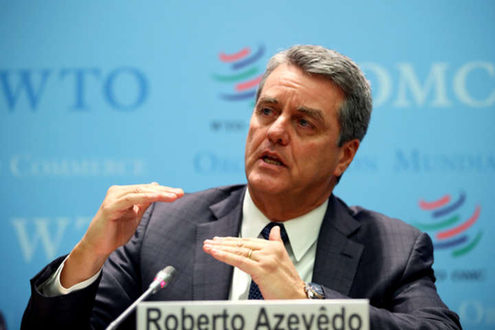 Генеральный директор Всемирной торговой организации Роберто Азеведо - Глава Всемирной торговой организации: Кризис из-за коронавируса может быть хуже, чем в 2008 году