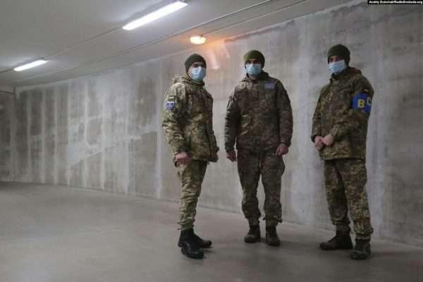 В Збройних силах України в ізоляції перебувають 158 військовослужбовців