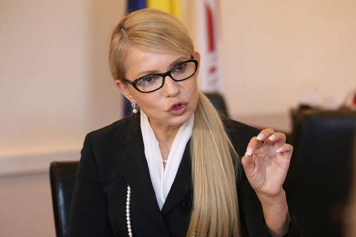 Голова партії «Батьківщина» Юлія Тимошенко - «Батьківщина» не голосуватиме за закон про ринок землі