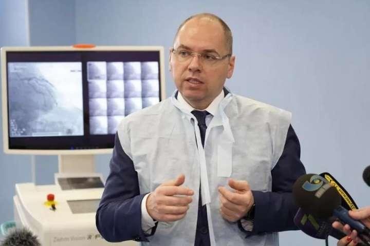 Міністр охорони здоров'я України Максим Степанов - Степанов розповів, як в Україні планують захищати лікарів від коронавірусу