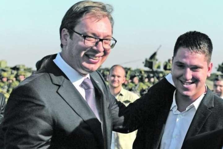 Олександр Вучич і його старший син Данило - Син президента Сербії заразився коронавірусом