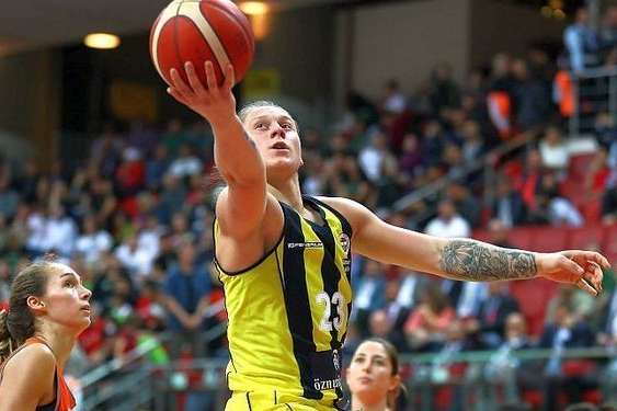 Аліна Ягупова у Євролізі є лідеркою за більшістю статистичних показників — Найсильніша баскетболістка Європи. Інтерв'ю з українкою Аліною Ягуповою