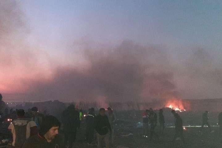 Авіакатастрофа Boeing 737 авіакомпанії МАУ у Тегерані - У Міноборони Ірану назвали винного у катастрофі літака МАУ