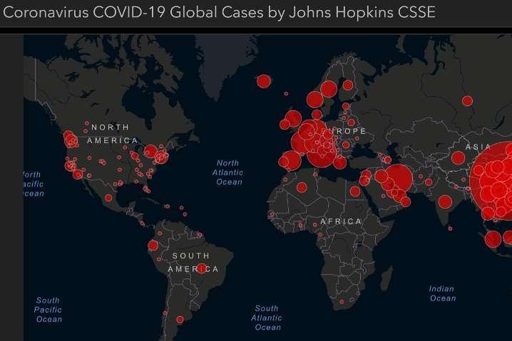 Коронавірус в світі: заразилися майже 5,4 млн осіб - Коронавірус у світі: заразилися 5,4 млн осіб
