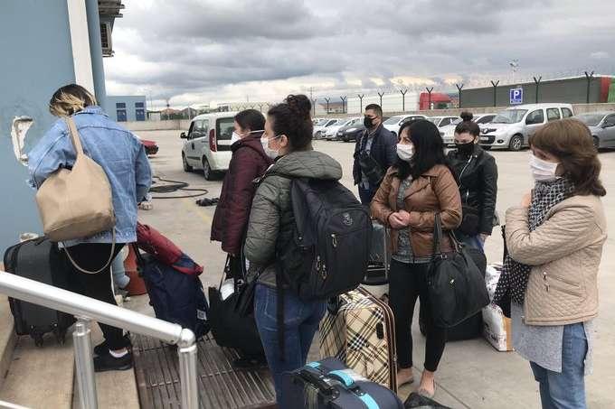 З Туреччини поромом до Одеси відправили 38 українців - З Туреччини поромом до Одеси відправили 38 українців