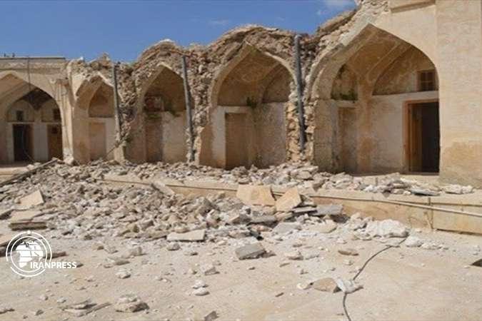 pВ результаті підземних поштовхів було пошкоджено багато історичних пам'яток, в тому числі Карван-сарай/p - Потужний землетрус в Ірані пошкодив історичні пам'ятки