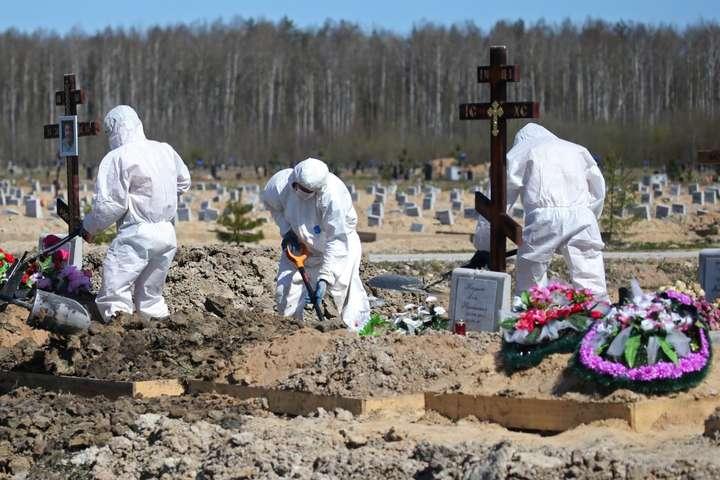 Так ховають померлих від Covid-19 у Росії. Хоча путінський режим назвав карантин просто і легко — «вихідними днями» — Коронавірусна перекличка. Як з пандемією справляються сусіди України?