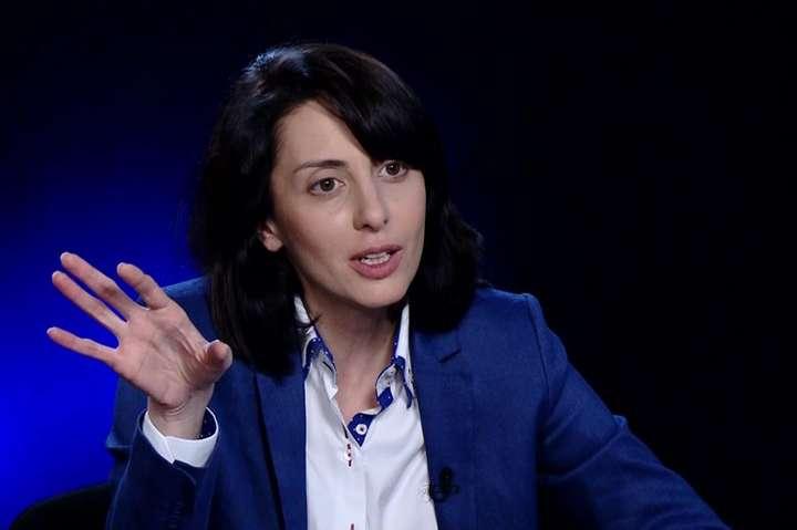 Колишня глава Національної поліції УкраїниХатія Деканоїдзе - Деканоїдзе відповіла, чи просуває її Саакашвілі на посаду голови митниці