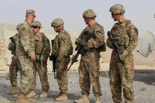 Солдати регулярних військ розміщені на військових базах у вашингтонській агломерації, але не в самому Вашингтоні