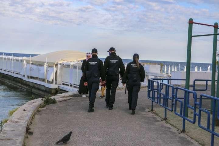 Для посилення охоронизаплановано залучити понад 500 правоохоронців - Нацгвардія та поліція взяли під посилену охорону курорти Одещини