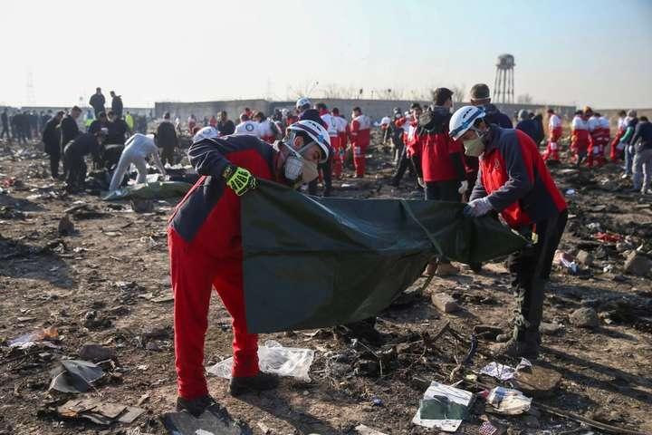 Місце авіакатастрофи літака МАУ під Тегераном - В Ірані заявили, що розслідування катастрофи літака МАУ майже завершено
