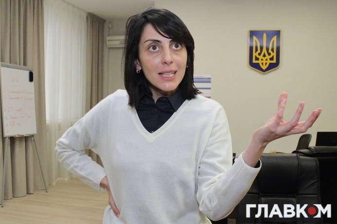 ЕксочільницяНаціональної поліції України Хатія Деканоїдзе — Хатія Деканоїдзе: Ситуація в МВС – відповідальність усієї влади. Сухим з води ніхто не вийде