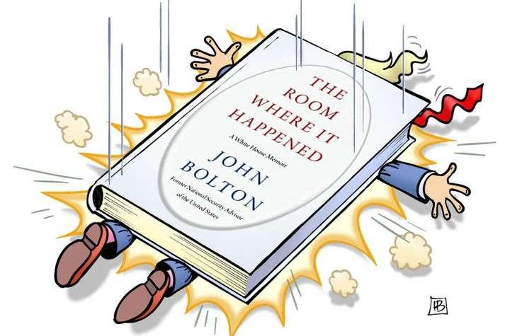 Книга Болтон розкриває чимало фактів, які кидають тінь на Дональда Трампа — «Кімната, де це сталось…». Скандальні мемуари Болтона: розділ про Україну