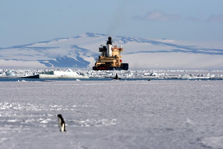 <p>За останні три десятиліття температура на Південному полюсі підвищувалася втричі швидше, ніж у середньому на планеті</p> <p> — На Південному полюсі зафіксували рекордне потепління»></p></div> <div class=