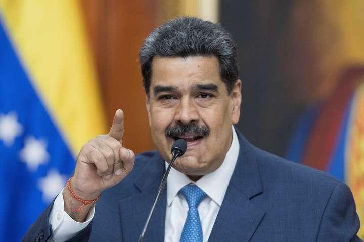 <p>Президент Венесуели Ніколас Мадуро: Я вирішив дати представнику ЄС в Каракасі 72 години, аби вона покинула країну, і вимагаю від ЄС виявляти повагу</p> <p> — ЄС розширив санкції проти Венесуели. Мадуро натомість висилає європейського посла»></p></div> <div class=