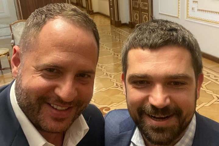 Андрій Єрмак і Сергій Трофімов зробили спільне фото - Трофімов і Єрмак запевняють, що не сваряться