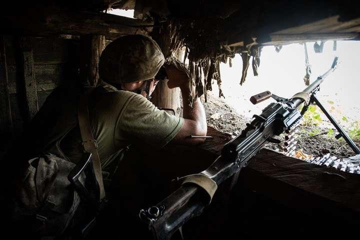 spanСитуація в районі проведення Операції Об'єднаних сил залишається контрольованою/span - Окупанти двічі обстріляли з мінометів позиції Збройних сил