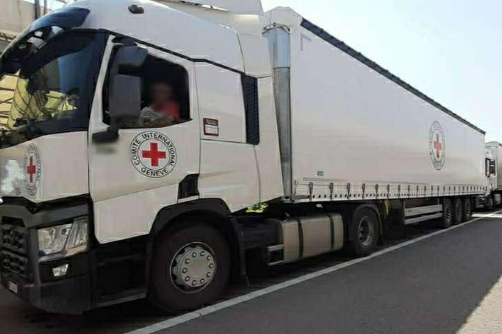 <span>Загальна вага гуманітарної допомоги становить 84 тонни</span> - Червоний Хрест відправив гуманітарну допомогу на окупований Донбас