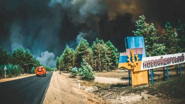 На Луганщині від вогню постраждали 5 тисяч гектарів - На Луганщині від вогню постраждали 5 тисяч гектарів