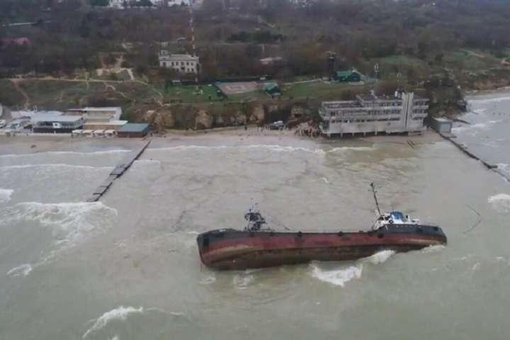 Криклій розповів, коли в Одесі приберуть затонулий танкер Delfi