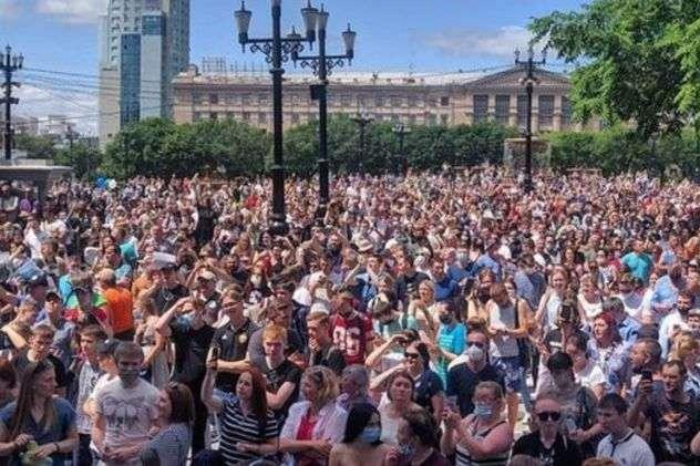 Хабаровський «бунт» як вісник звільнення Росії від путінізму