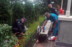 """Фото: — <span lang=""""UK"""">Жінку госпіталізували до районної лікарні</span>"""
