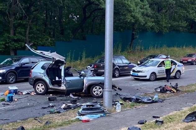 Смертельное ДТП под Киевом. За рулем авто мог быть не Желепа? - Главком