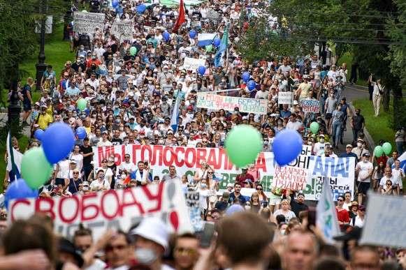 Протесты в Хабаровске – предупреждение путинскому режиму - Главком