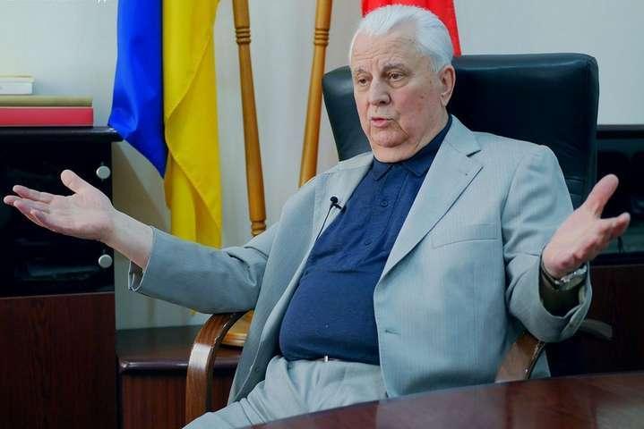 Кравчук розповів, чому Кучма вийшов із перемовин щодо Донбасу