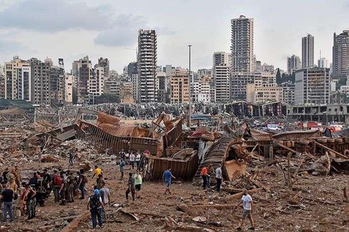 Жертвами вибуху у Бейруті стали щонайменше 50 осіб - У МЗС немає інформації про постраждалих українців під час вибуху в Лівані