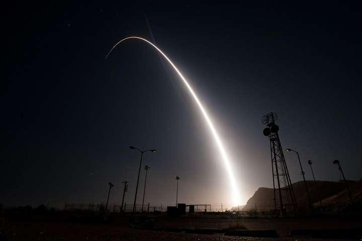 pВипробування міжконтинентальної балістичної ракети Minuteman III/p - США випробували міжконтинентальну ракету, яка здатна нести ядерні заряди
