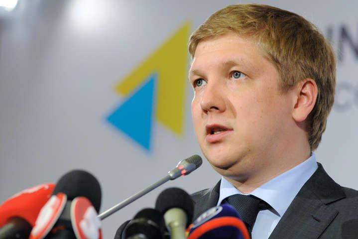 Коболєв заявив, що Україна не відновить поставки газу з Росії