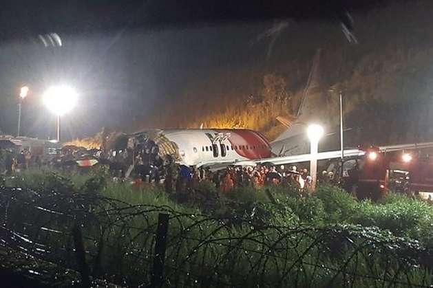 Авіакатастрофа в Індії: кількість жертв зросла до 16