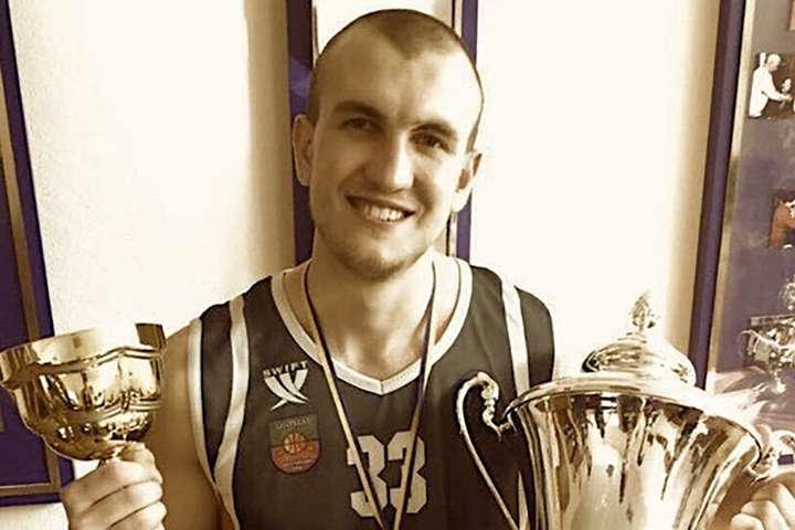 26-річний український баскетболіст помер після тривалого перебування в комі
