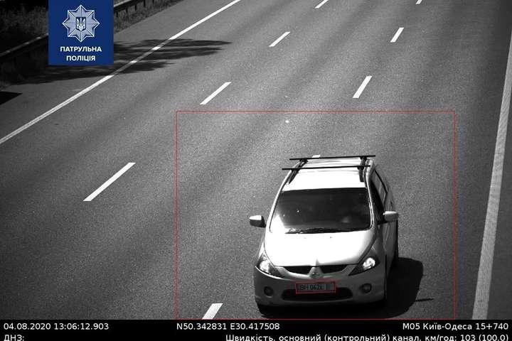Найбільше порушував швидкісний режим, а саме 22 рази за тиждень, Mitsubishi Grandis - В Україні другий тиждень топ-порушником швидкості є одне й те саме авто