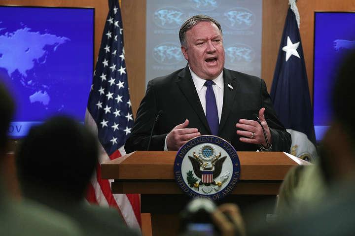 Майк Помпео допустив введення санкцій проти Білорусі - США допустили введення санкцій проти Білорусі