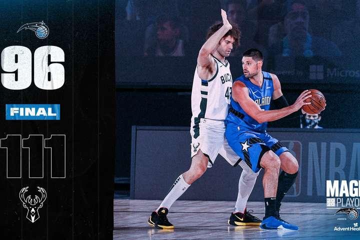 Тріумфатор регулярного сезону НБА одержав першу перемогу у плей-офф