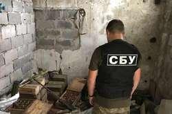 Фото: — Силовики натрапили на арсенал боєприпасів