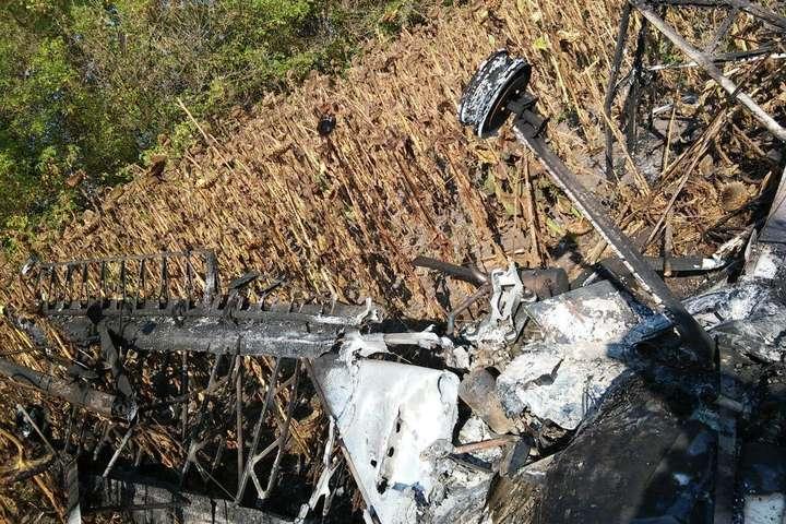 На Сумщині розбився літак, пілот загинув