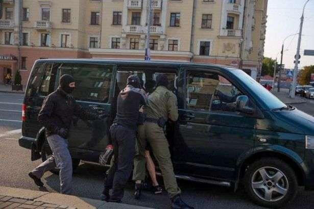 В ході протестних акцій у Білорусі затримали майже 70 осіб - В ході протестних акцій у Білорусі затримали майже 70 осіб