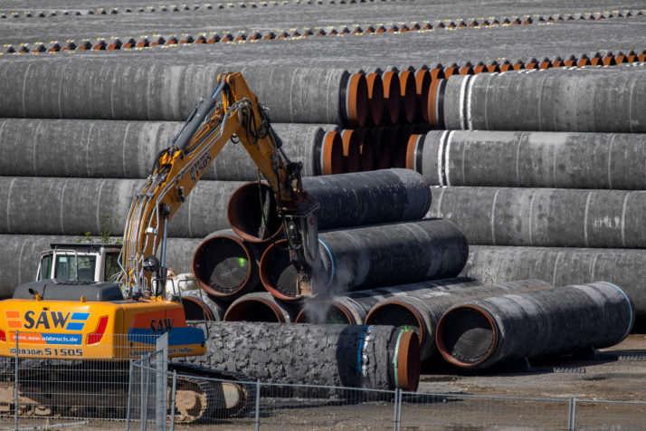Влада Німеччини розглядає призупинення будівництва газопроводу «Північний потік -2» - У Німеччині існує шість варіантів відмови від «Північного потоку-2», – Politico