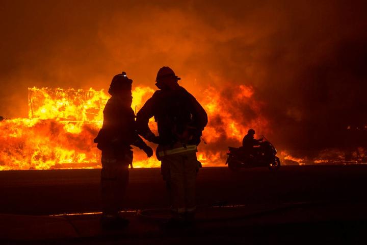 Наприкінці серпня у Каліфорнії згоріли понад пів мільйона гектарів лісів - Трамп відвідає постраждалу від пожеж Каліфорнію