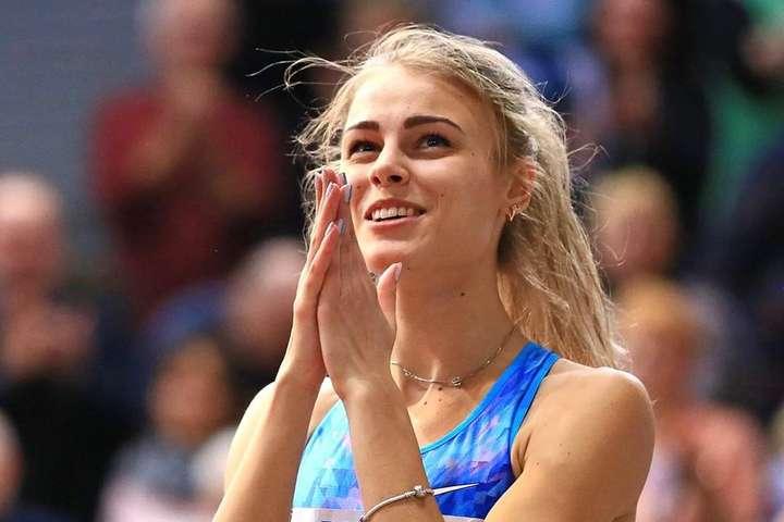 Юлія Левченко виграла четверті змагання поспіль - Юлія Левченко переконливо виграла легкоатлетичний Continental Tour Gold у Загребі