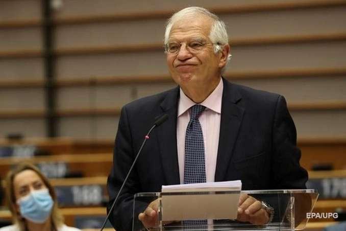 Глава зовнішньополітичної служби ЄС Жозеп Боррель - Глава європейської дипломатії назвав Лукашенка «нелегітимним президентом України»