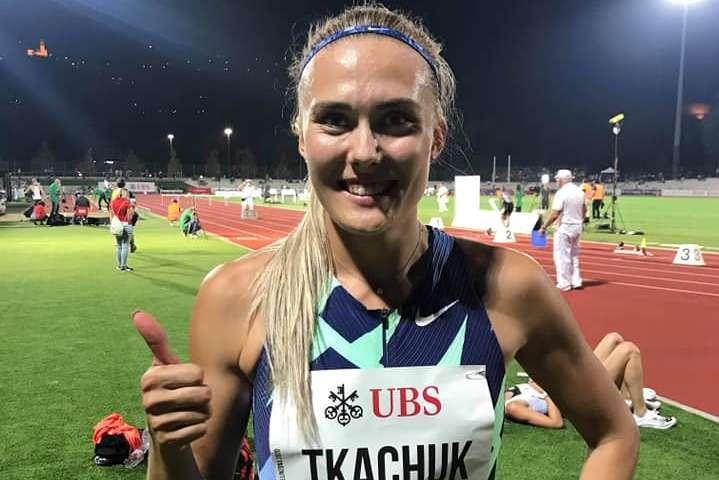 Вікторія Ткачук після фінішу у Беліццоні — Українська бар'єристка Ткачук стала призеркою змагань у Швейцарії