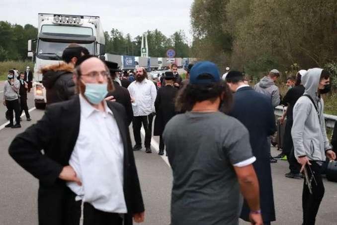 Хасиди на кордоні Білорусі та України - Лукашенко хоче домовитися з Україною про «зелений коридор» для хасидів